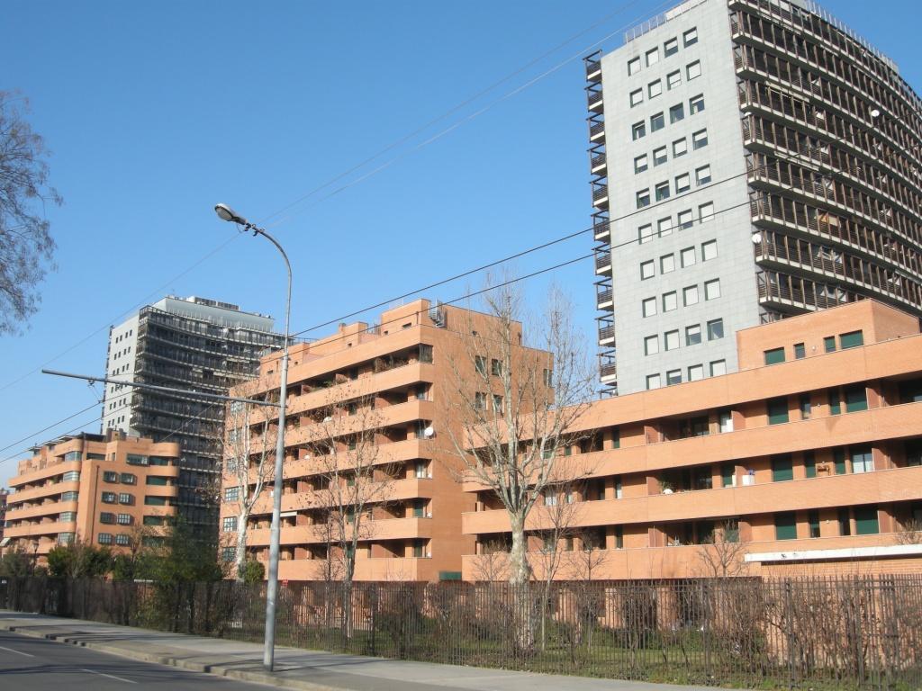 Centro residenziale Borgo Masini mastellari colori bologna