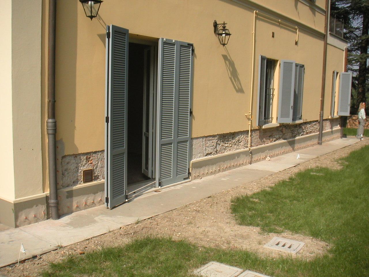barriera chimica cantiere Ravone mastellari colori Bologna